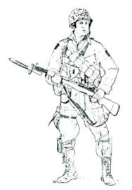 Union Soldier Coloring Page Soldiers Coloring Pages Army Soldier
