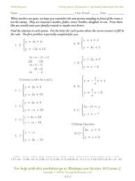 worksheet linear equations in one variable worksheets within class 8 for solving with fractions pdf