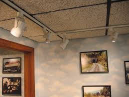 drop ceiling track lighting installation. hanging track lighting on drop ceiling home design installation c