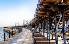 Resultado de imagen de El Río Odial y el Muelle del Tinto