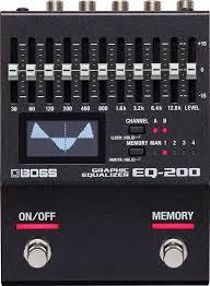 Купить <b>Boss EQ</b>-<b>200</b> Equalizer эквалайзер для гитары: цена в ...