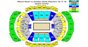 Golden State Warriors Vs Miami Heat Sprint Center