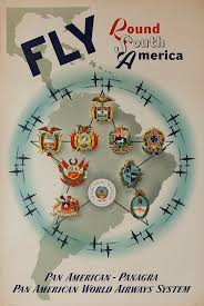 pan am travel posters all photos by david pollack corbis via getty images