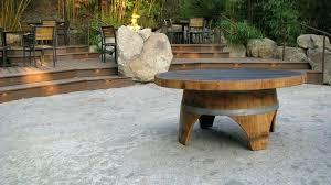 reversible reclaimed wine barrel. Table: Wonderful Wine Barrel Coffee Table Reversible Reclaimed Half Nz M