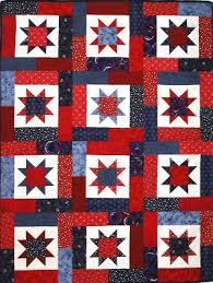Google Image Result for http://shop.millhousequilts.com/prodimg ... & Image detail for -lucky stars patriotic quilt kit kits all kits A Terry  Atkinson pattern Adamdwight.com