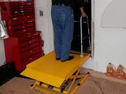 Startracks Home Wheelchair Platform Lift Home Standing Lift