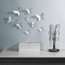 mariposa wall decor white  umbra