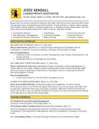 Famous Opm Background Investigator Resume Collection Resume Ideas