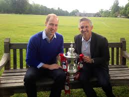 prince william interviewed by gary lineker ahead of fa cup final prince william interviewed by gary lineker ahead of fa cup final