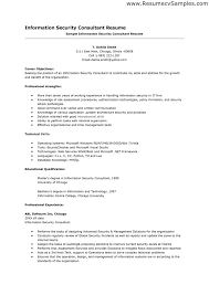 Security Resume Cover Letter It Security Sample Resume David Hurston