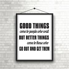 Picture Frames With Quotes Delectable Inspirational Quote In Picture Frame Hanging On A Brick Wall Vector