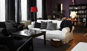 dark living room furniture. Interactive Living Room Design With Ikea Furniture Sets : Marvelous Black Decoration Dark I