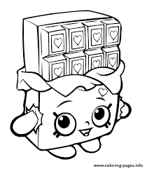 Coloring Pages Info Shopkins Chocolat Bar Coloring Pages Printable