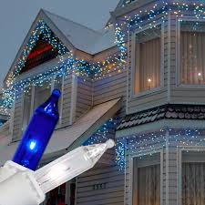 christmas lights outdoor trees warisan lighting. Christmas Lights Outdoor Trees Warisan Lighting. Captivating Led Icicle With Glass Window And White Lighting S