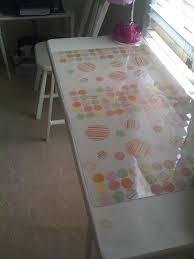ikea s vika lerberg re purposed coffee table top and desk protector sbook paper