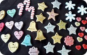 Simple Salt Dough Mitten Ornament Keepsake  Fun Handprint ArtSalt Dough Christmas Gifts
