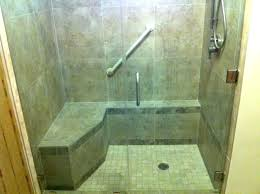 bathroom showers stalls. Shower Stalls With Seats Handicap Bathroom Seat Glass Stall La Lowes Showers