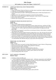 Music Industry Resume Internship Entry Level Template Cv Examples