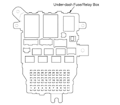 honda civic fuse box recall honda wiring diagrams
