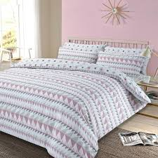 duvet cover with pillowcase bedding set blush queen dkny willow king full size