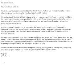 babysitting letter babysitting reference letter sample http topresume info
