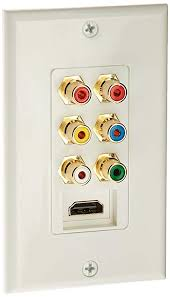 image unavailable image not available for color mono recessed hdmi wall plate