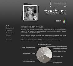 Gallery Of Project Personal Online Resume Peggycharepoo Resume