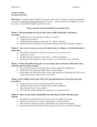 character analysis essay outline essay writing character analysis  character