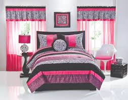 Skull Bedroom Curtains Hot Pink And Black Curtains