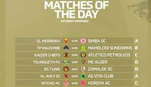 جدول ترتيب مجموعات دوري أبطال أفريقيا بعد تعادل الأهلي وخسارة الزمالك -  ميركاتو داي