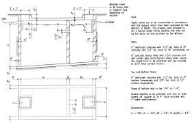 Domestic Septic Tank Design Building Guidelines Drawings Section F Plumbing