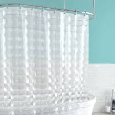 clear shower curtain wide liner croydex