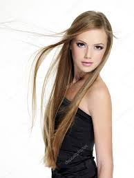 Teen Girl Hair Style beautiful sensuality teen girl with long hair stock photo 7389 by wearticles.com