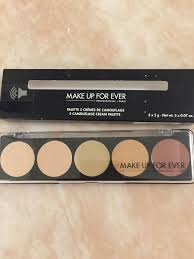 makeup forever colour correct 5 camouflage concealer cream palette no 3 ebay