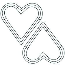 Sumind 2 Pack 12 Inch <b>Heart</b> Wire <b>Wreath Frame Metal</b> Flower ...