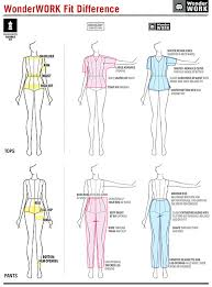 Learn How To Get The Best Fit With Wonderwinks Sizing Guide