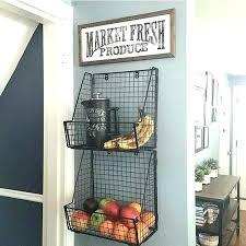 hanging baskets on wall decorative metal best basket ideas kitchen and wallingford hanging baskets on wall