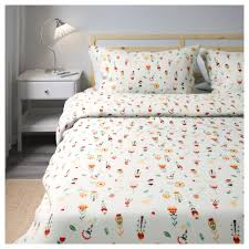 33 fresh ikea orange bedding rosenfibbla quilt cover and 2 pillowcases white fl patterned ikea concealed press studs keep the in place beddinge bezug