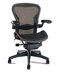 Aeron Office Chair Size Chart Herman Miller Aeron Chair Size C Fully Featured In Black
