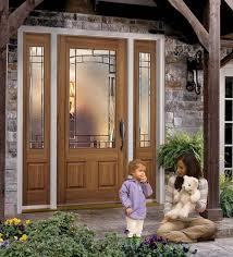 belleville oak textured 2 panel door 3 4 lite with element glass traditional exterior