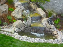 image of small backyard waterfalls and ponds waterfall planning diy pond