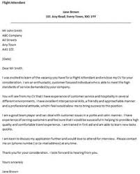 Cabin Crew Cover Letter Prepasaintdenis Com