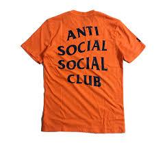 Anti Social Social Club T Shirt 1 1 Men Women Paranoid