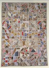 New England Quilt Museum's Collage Collection by In the Beginning ... & A LITTLE HISTORY OF THE TILE QUILT Adamdwight.com