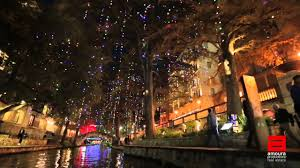 2015 San Antonio Riverwalk Holiday Lights Tour - YouTube