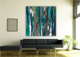 very large teal wall art print abstract landscape trees oversized teal wall decor on oversized print wall art with very large teal wall art print abstract landscape trees oversized