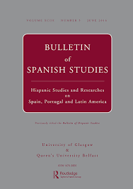 Reviews Of Books Bulletin Of Spanish Studies Vol 93 No 5