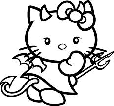 Coloriage Hello Kitty Halloween En Ligne Goshowmeenergy