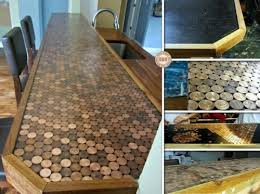 diy penny countertop makeover via theownerbuildernetwork