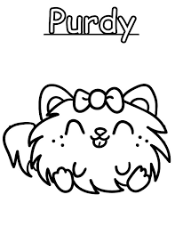 Small Picture Moshi Monster Purdy Coloring Pages Color Luna